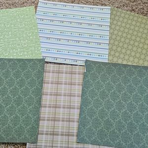 Scrapbooking Paper Bundle